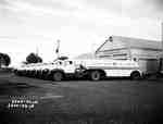 Trucks Parked in a Row, Port Arthur, ON