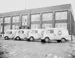Vans Parked Outside of  208 Hillyard St., Hamilton,  the General Offices of the International Harvester Company of Canada