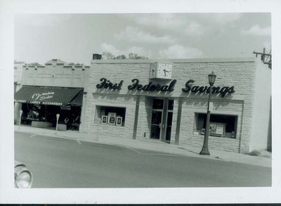 First Federal Savings & Loan of Wilmette close up view