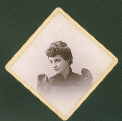 Portrait of Florence Mitchell, age 27