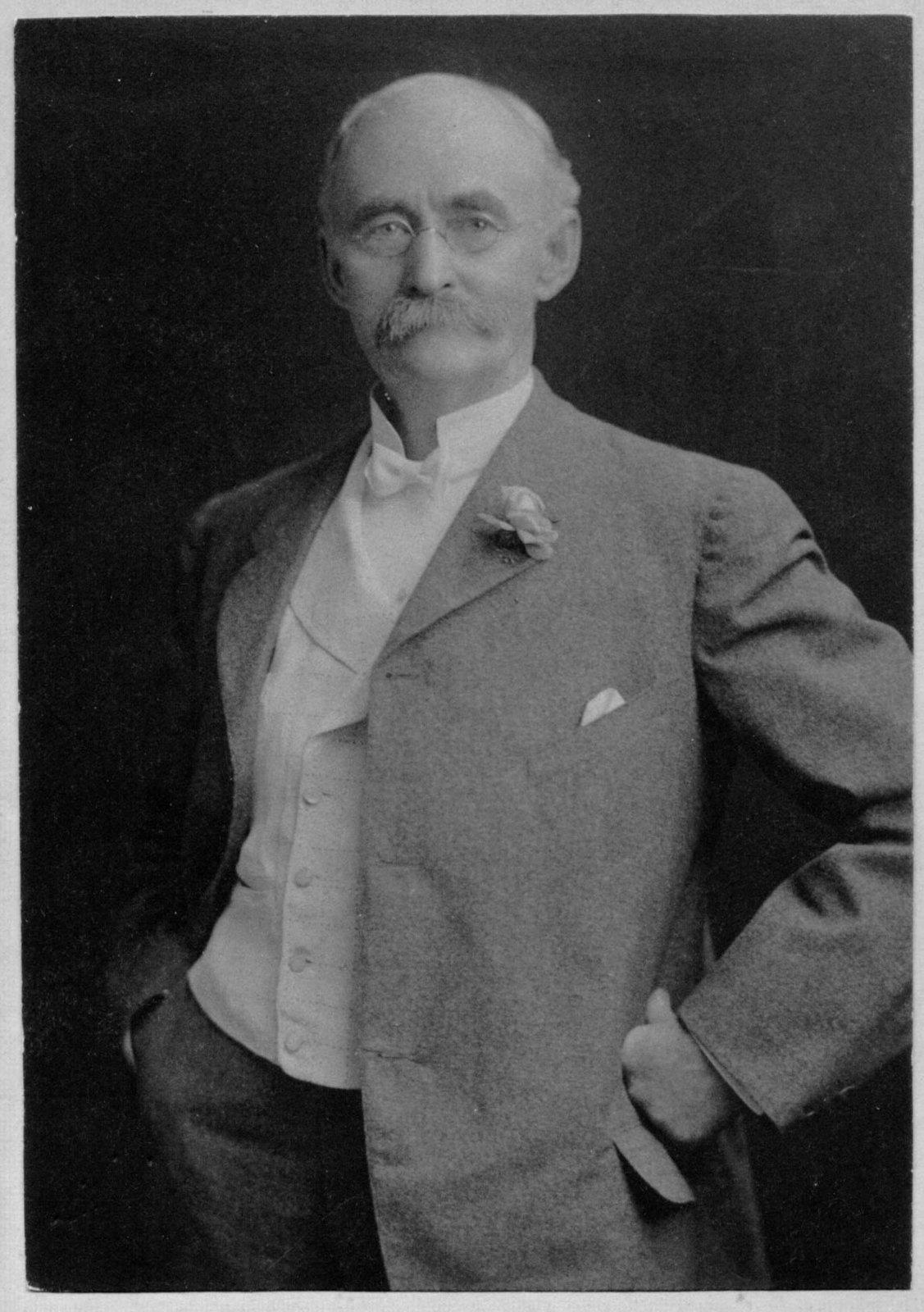 Portrait of George C. Hughes