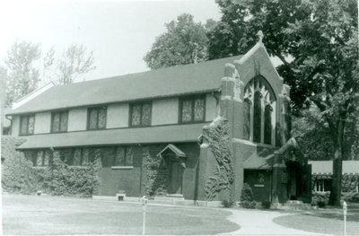 St. Augustine's Episcopal Church circa 1960