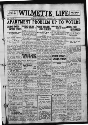 Wilmette Life (Wilmette, Illinois), 8 Feb 1924