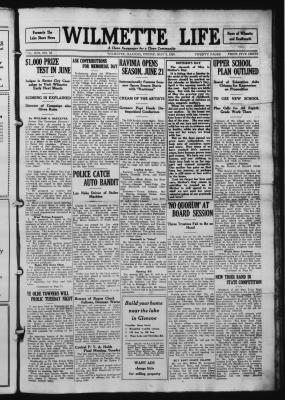 Wilmette Life (Wilmette, Illinois), 9 May 1924