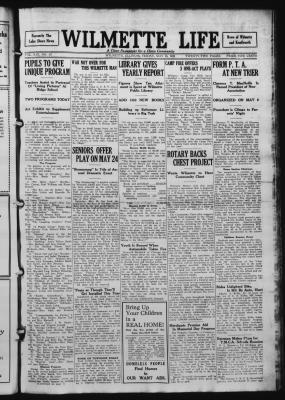 Wilmette Life (Wilmette, Illinois), 16 May 1924