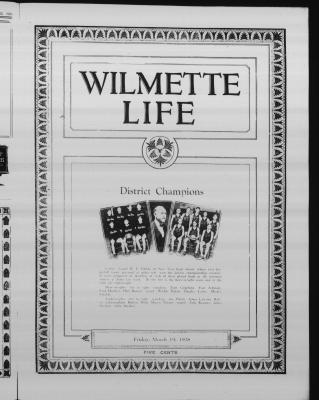 Wilmette Life (Wilmette, Illinois), 19 Mar 1926