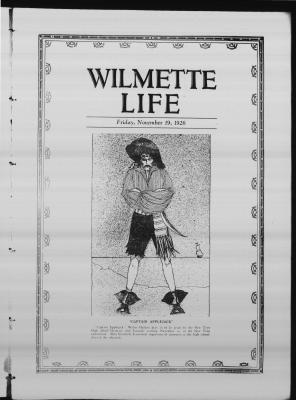 Wilmette Life (Wilmette, Illinois), 19 Nov 1926