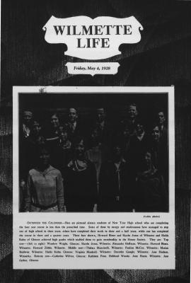 Wilmette Life (Wilmette, Illinois), 4 May 1928