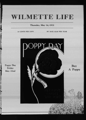 Wilmette Life (Wilmette, Illinois), 14 May 1931