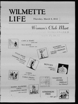 Wilmette Life (Wilmette, Illinois), 9 Mar 1933