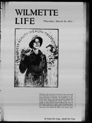 Wilmette Life (Wilmette, Illinois), 16 Mar 1933