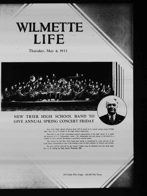 Wilmette Life (Wilmette, Illinois), 4 May 1933