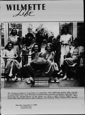 Wilmette Life (Wilmette, Illinois), 7 Sep 1939