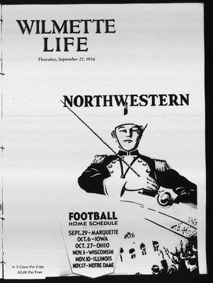 Wilmette Life (Wilmette, Illinois), 27 Sep 1934
