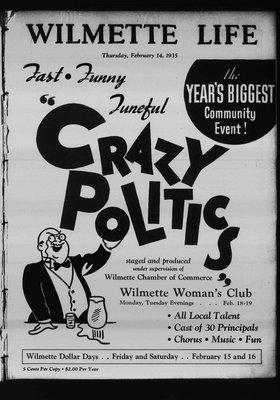 Wilmette Life (Wilmette, Illinois), 14 Feb 1935