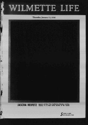 Wilmette Life (Wilmette, Illinois), 13 Jan 1938