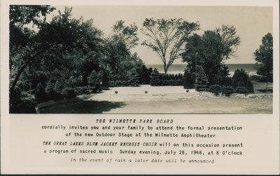 Wilmette Amphitheater