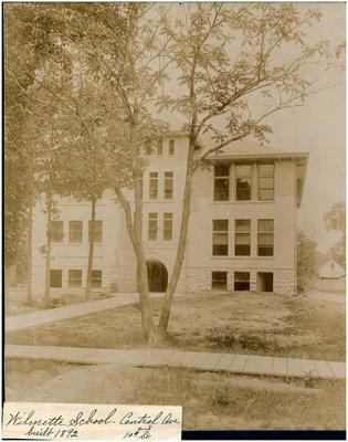Wilmette School   Central Ave.