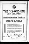 The six-one-nine dry cleaners [advertisement]
