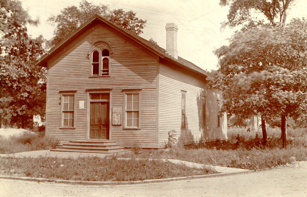 First library building in Wilmette