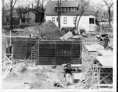 Wilmette Public Library construction No. 1