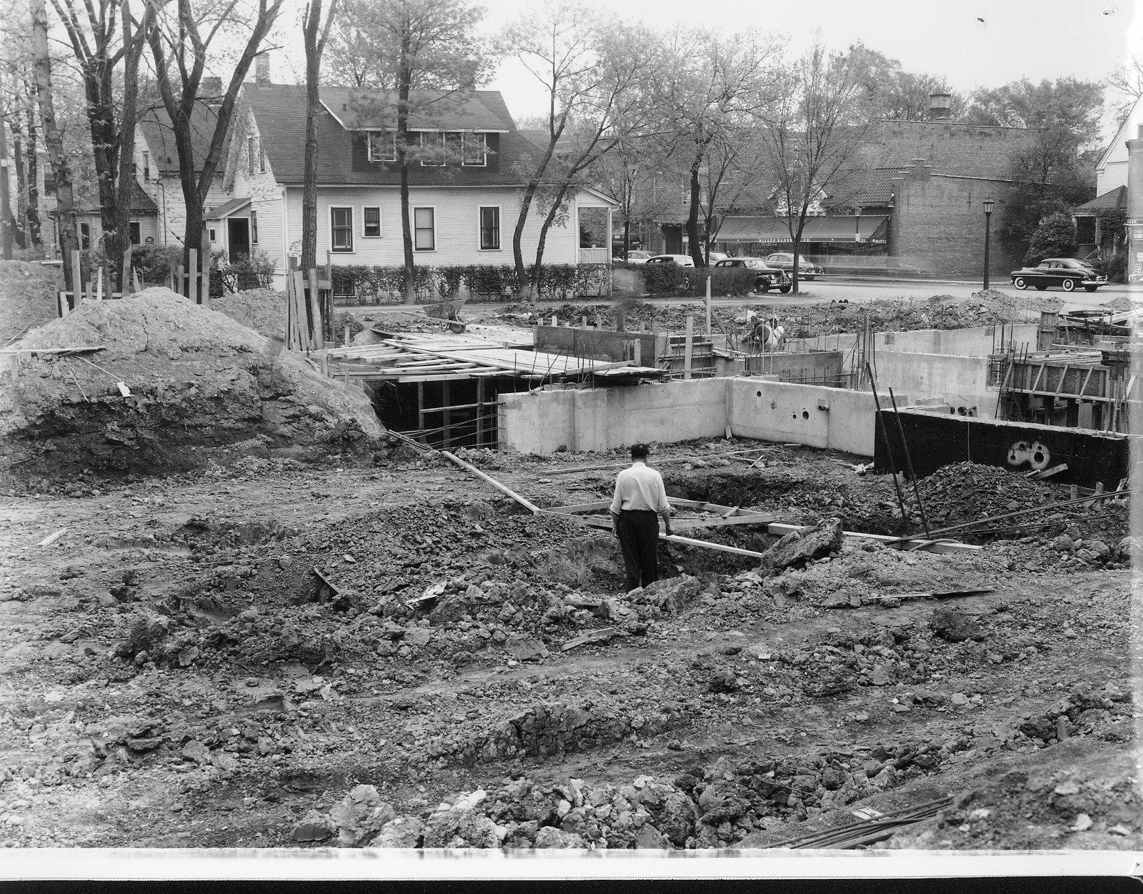 Wilmette Public Library construction No. 4
