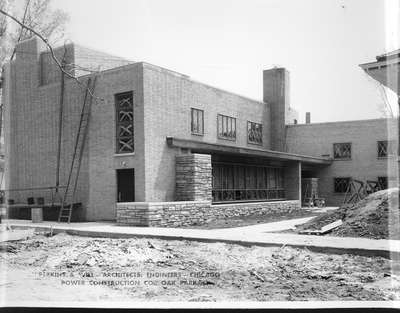 Wilmette Public Library construction No. 9
