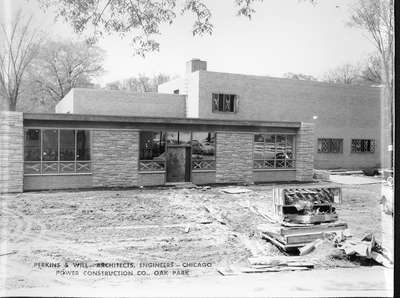 Wilmette Public Library construction No. 11