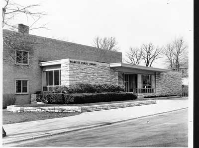 Wilmette Public Library construction No. 12