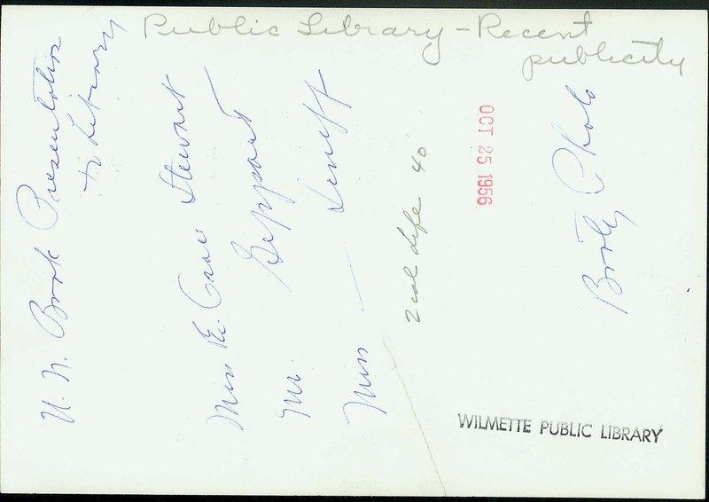 Wilmette Public Library 1950-1959 No. 28