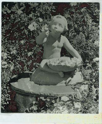Wilmette Public Library Memorial Garden 1950s No.22