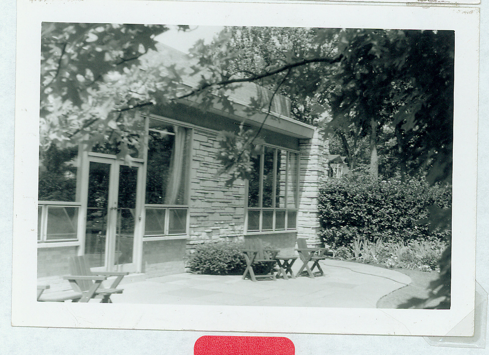 Wilmette Public Library Memorial Garden 1950s No.24