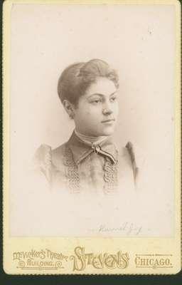Portrait of Harriet Joy
