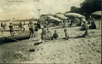 Beach in Wilmette about 1918