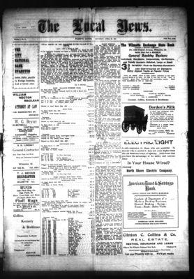 Local News, 20 Apr 1907