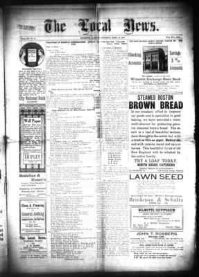 Local News, 16 Apr 1910