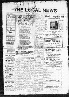 Local News, 7 Dec 1912