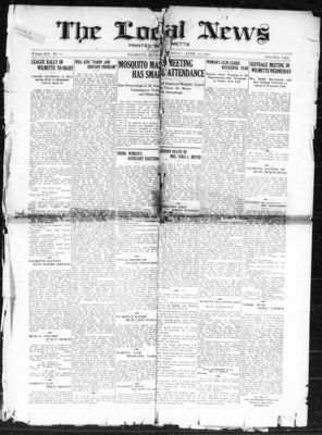 Local News, 28 Apr 1916