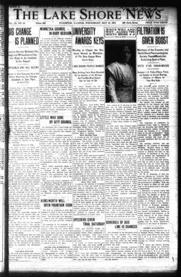 Lake Shore News (Wilmette, Illinois), 15 May 1912