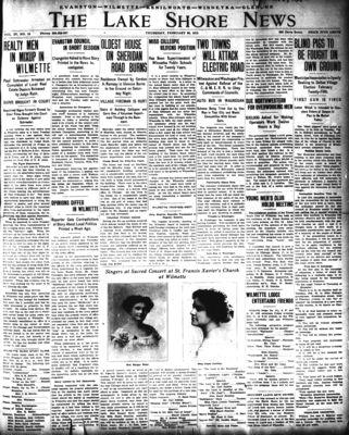 Lake Shore News (Wilmette, Illinois), 20 Feb 1913