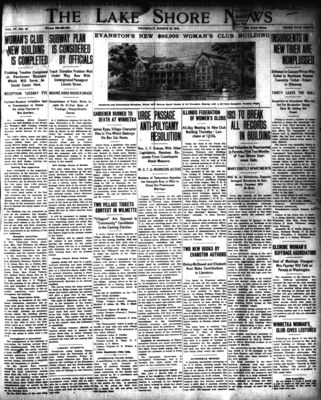 Lake Shore News (Wilmette, Illinois), 13 Mar 1913