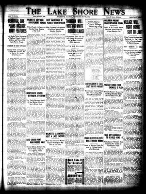 Lake Shore News (Wilmette, Illinois), 21 May 1914