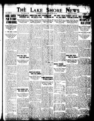Lake Shore News (Wilmette, Illinois), 28 May 1914