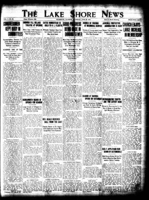 Lake Shore News (Wilmette, Illinois), 25 Jun 1914