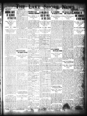 Lake Shore News (Wilmette, Illinois), 17 Sep 1914
