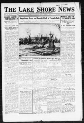 Lake Shore News (Wilmette, Illinois), 2 Apr 1920