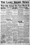 Lake Shore News (Wilmette, Illinois), 3 Mar 1922