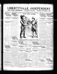 Change in local management at Libertyville Independent - new manager: W. H. Eckhardt.